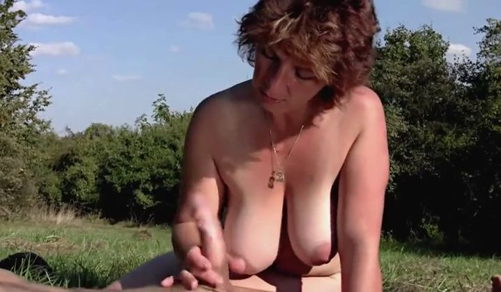 Boy - Wife & Son Fuck Fest In Nature