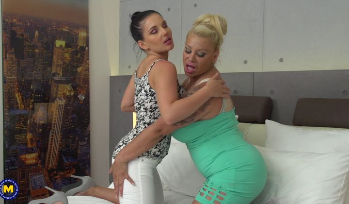 Mature Lesbian And Young Girl
