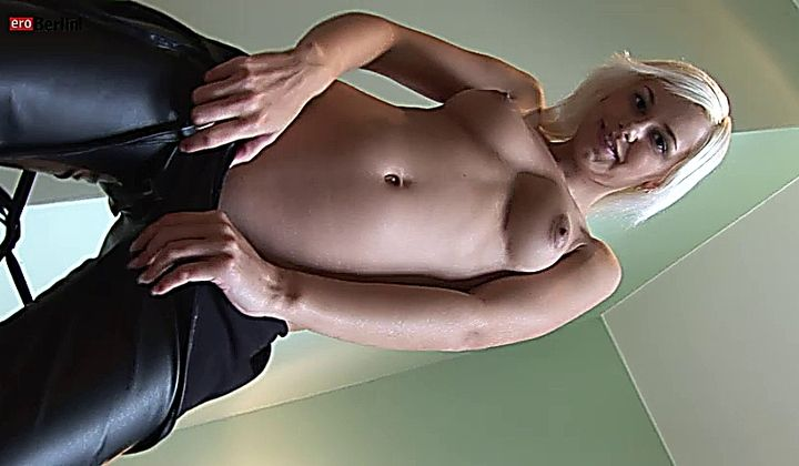 Eroberlin Blond Young Teen Lola Sexy Leather Fetish Stripte…