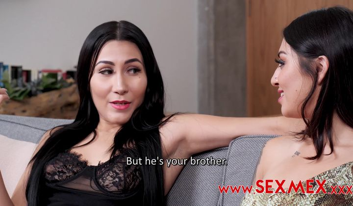 Blowjob - Sexmex Angie Miller And Valeria Quintana Looking For A Big …